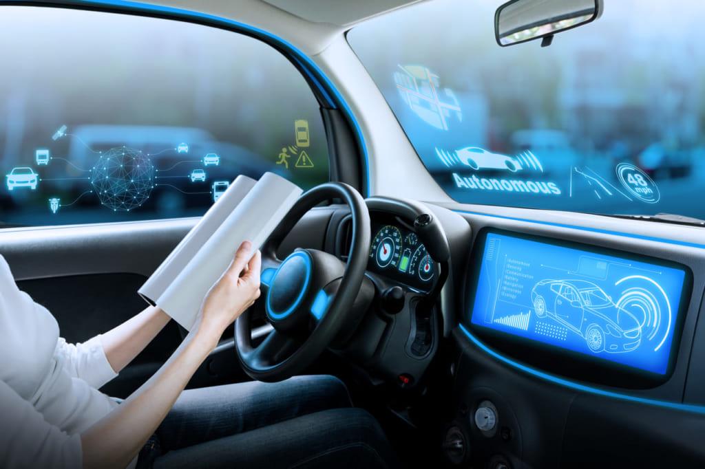 人工知能の発展による自動運転の実現
