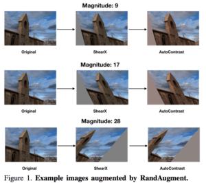 RandAugment Magnitude Example