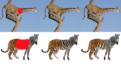 異なるテクスチャを自然にブレンドする画像生成システム